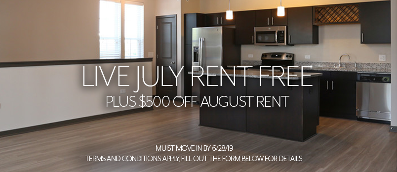 Live July Rent Free Special Offer At Springs at Canterfield
