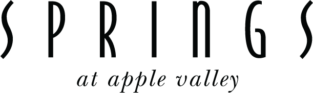 Apple Valley Black Word Logo