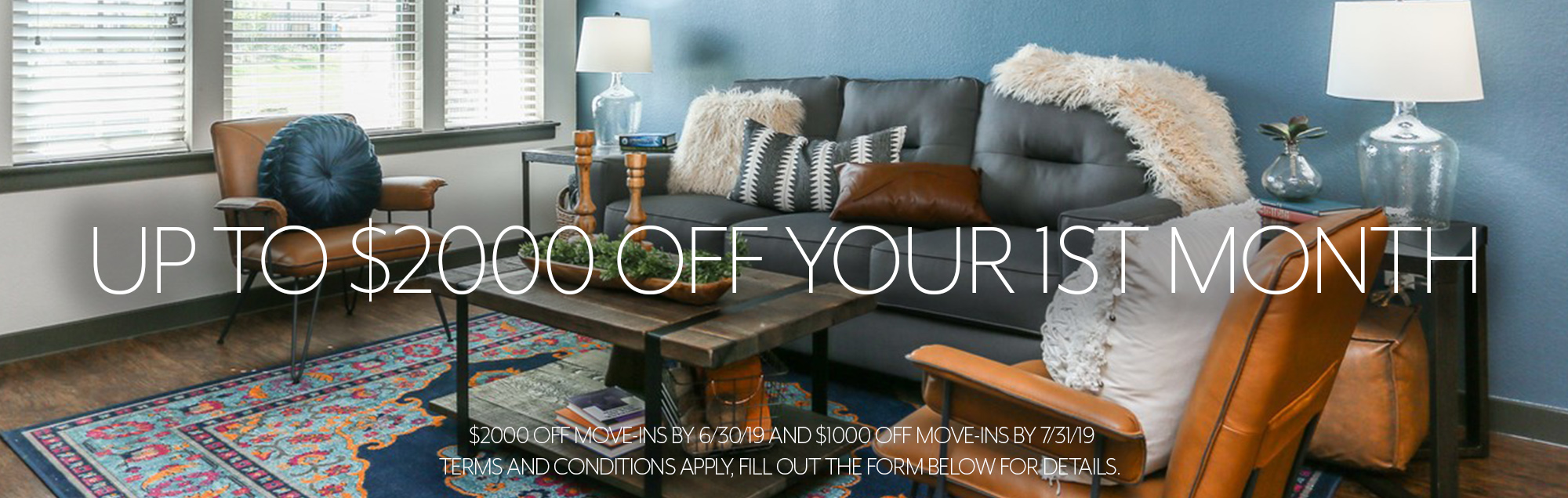 Claim Up To $2000 Off Your First Month Of Rent Special Image
