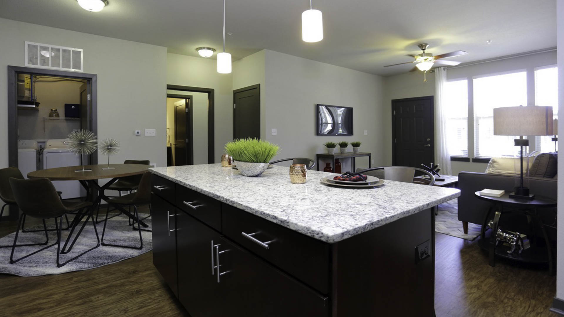 Springs at Allison Valley open concept living area