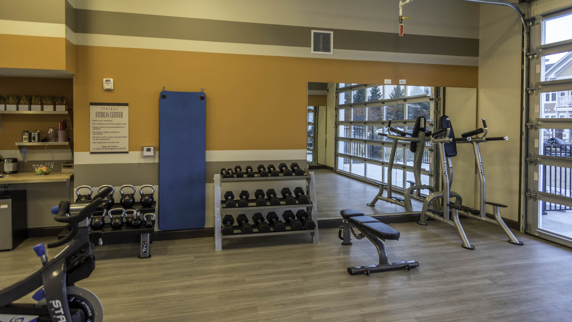 Springs at Apple Valley 24 hour fitness center