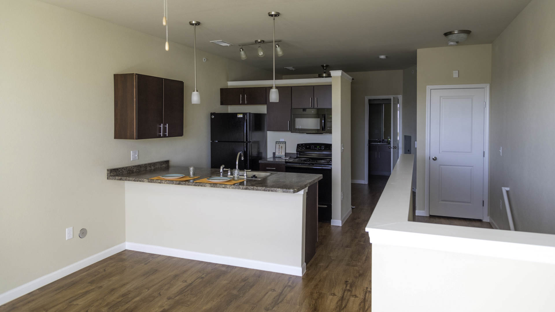 Springs at Apple Valley open concept living space