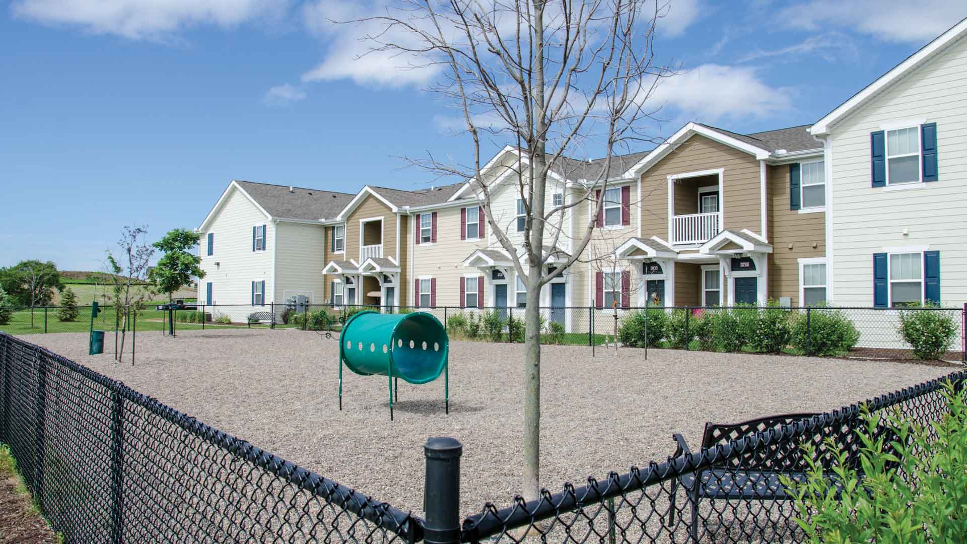 Dog Park at Springs at Bettendorf Apartments
