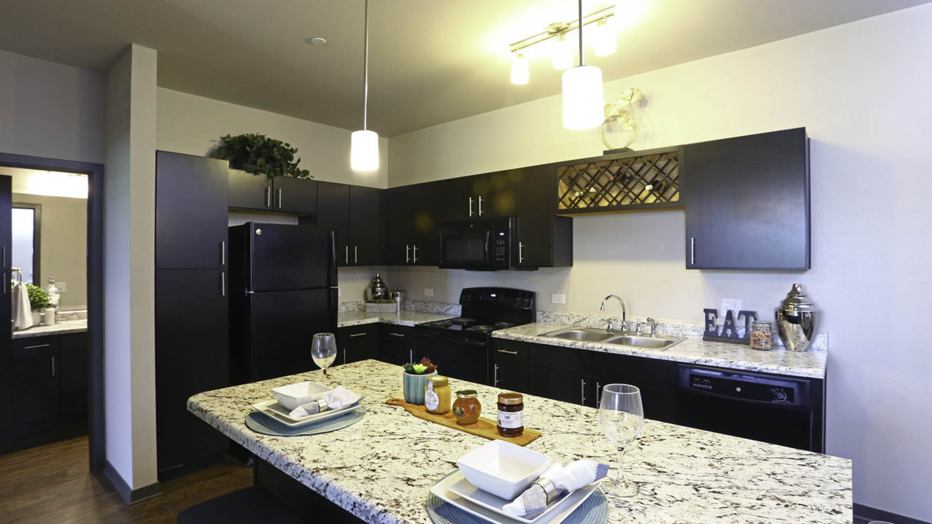 Springs at Canterfield luxury kitchen in West Dundee, IL