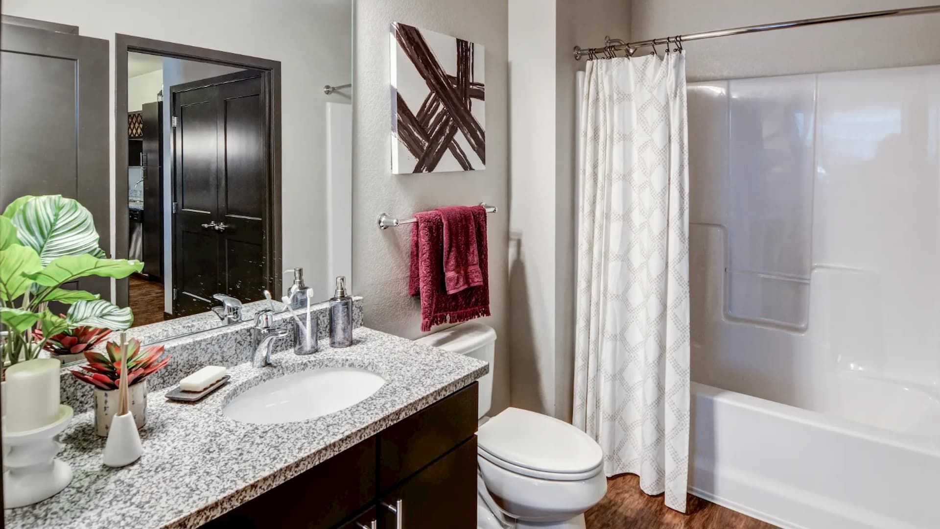 Apartment Bathroom in Apple Valley at Springs at Cobblestone Lake