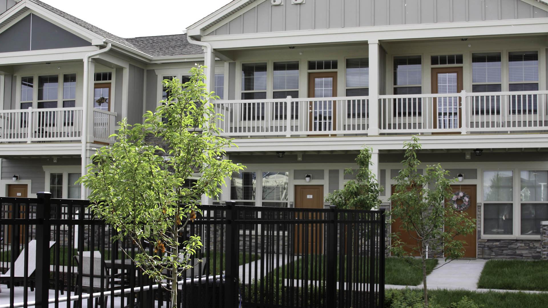 Springs at Cobblestone Lake apartment exteriors