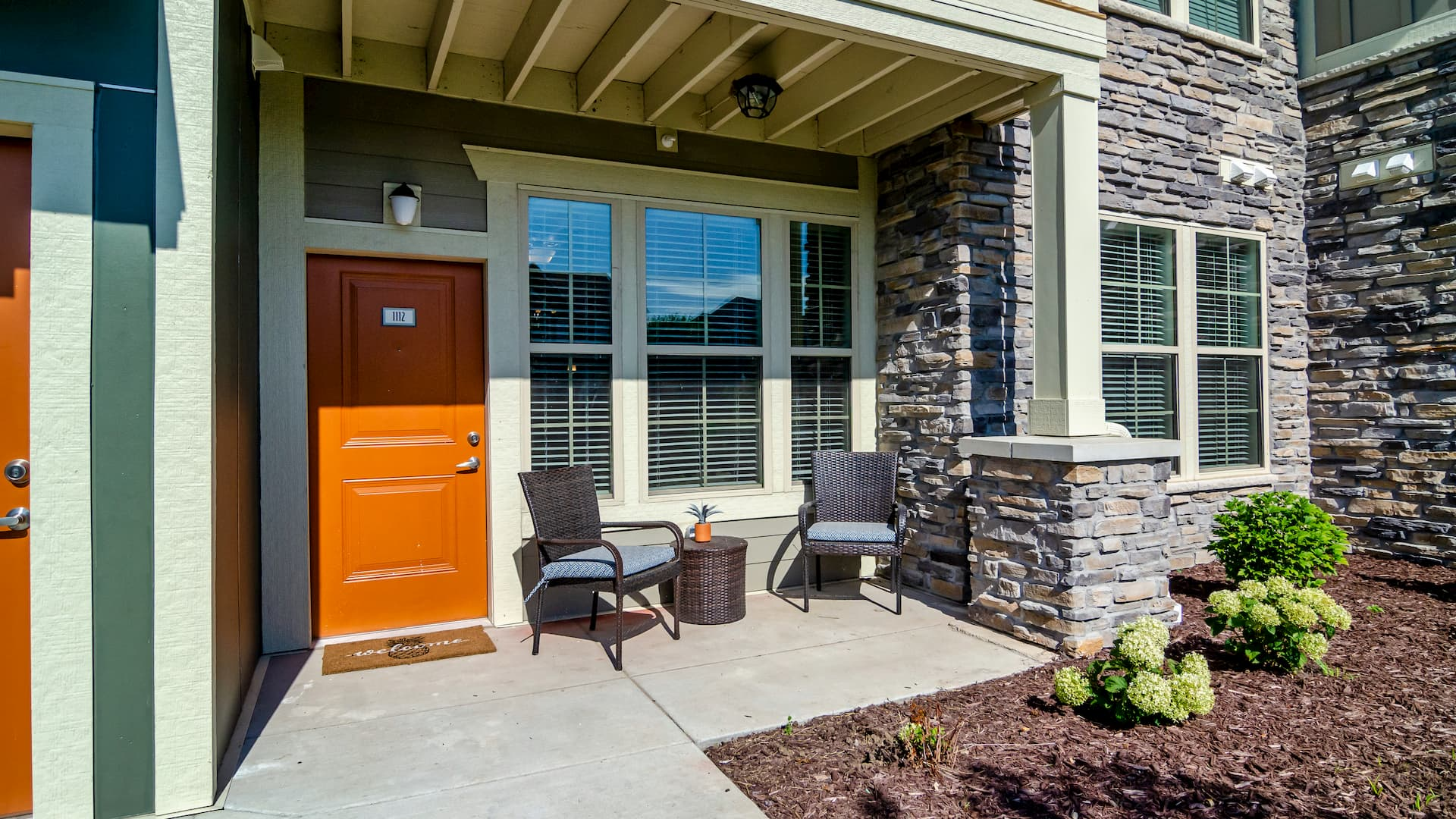 Private Entry Townhome Apartments