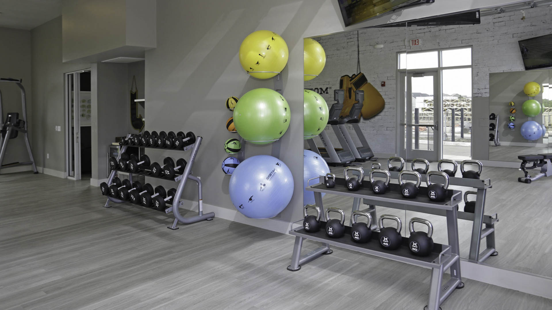 Springs at Cobblestone Lake fitness center weights