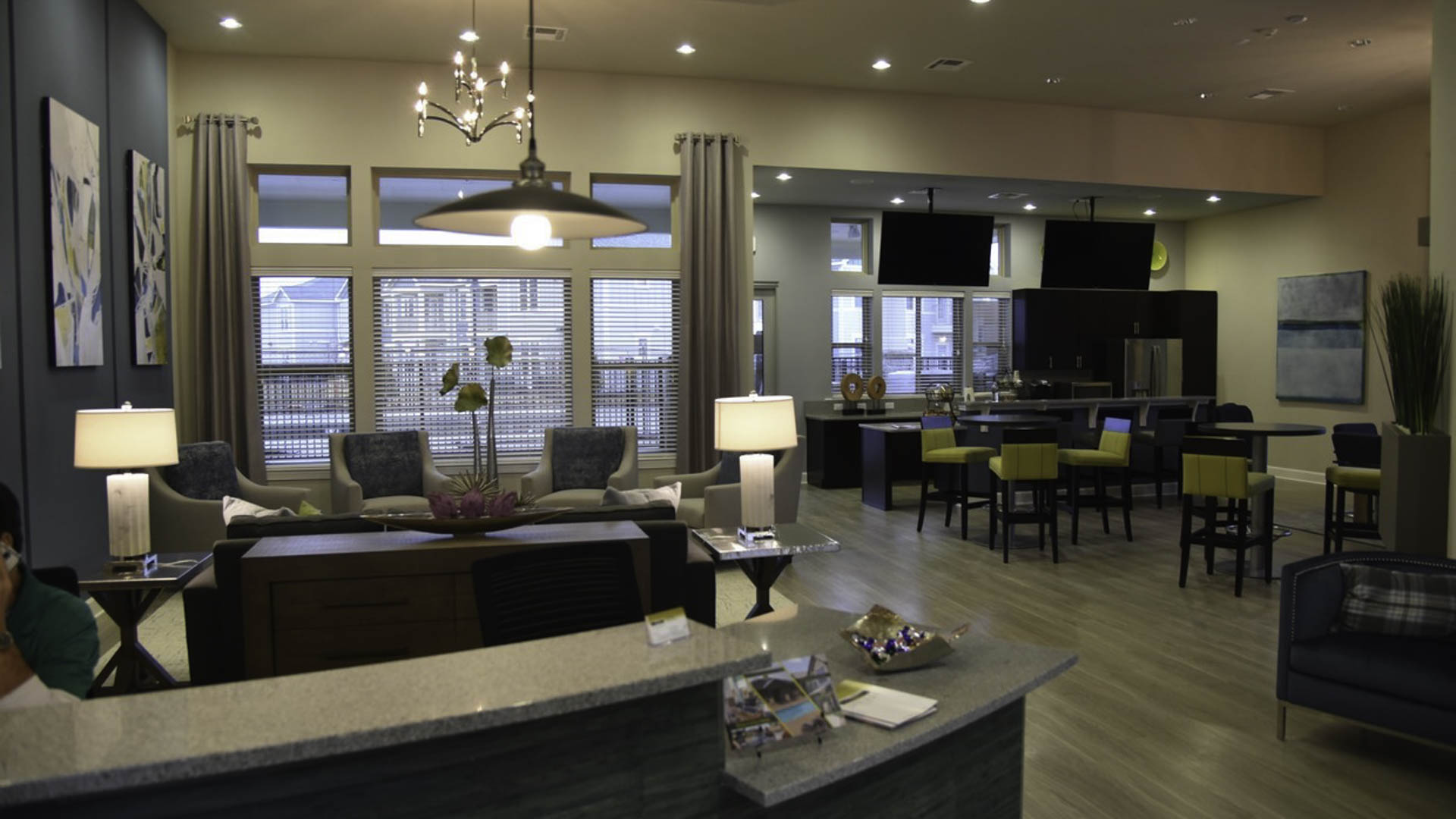 Springs at Cottonwood Creek clubhouse interior