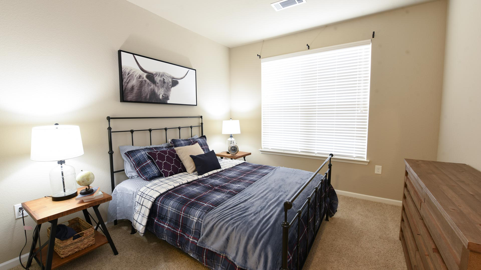 Second Bedroom with Large Windows at Springs at Foothill Farms in Colorado Springs-11