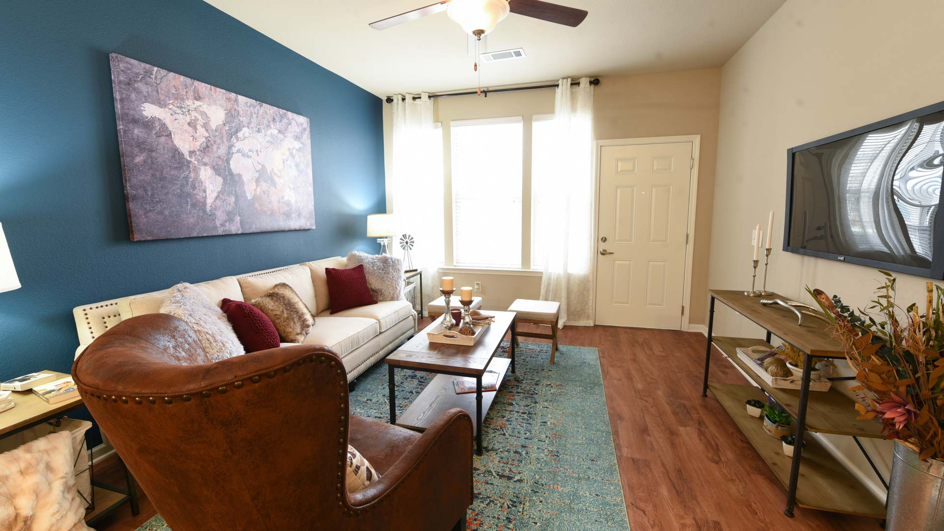 Spacious Living Room at Springs at Foothill Farms in Colorado Springs-15