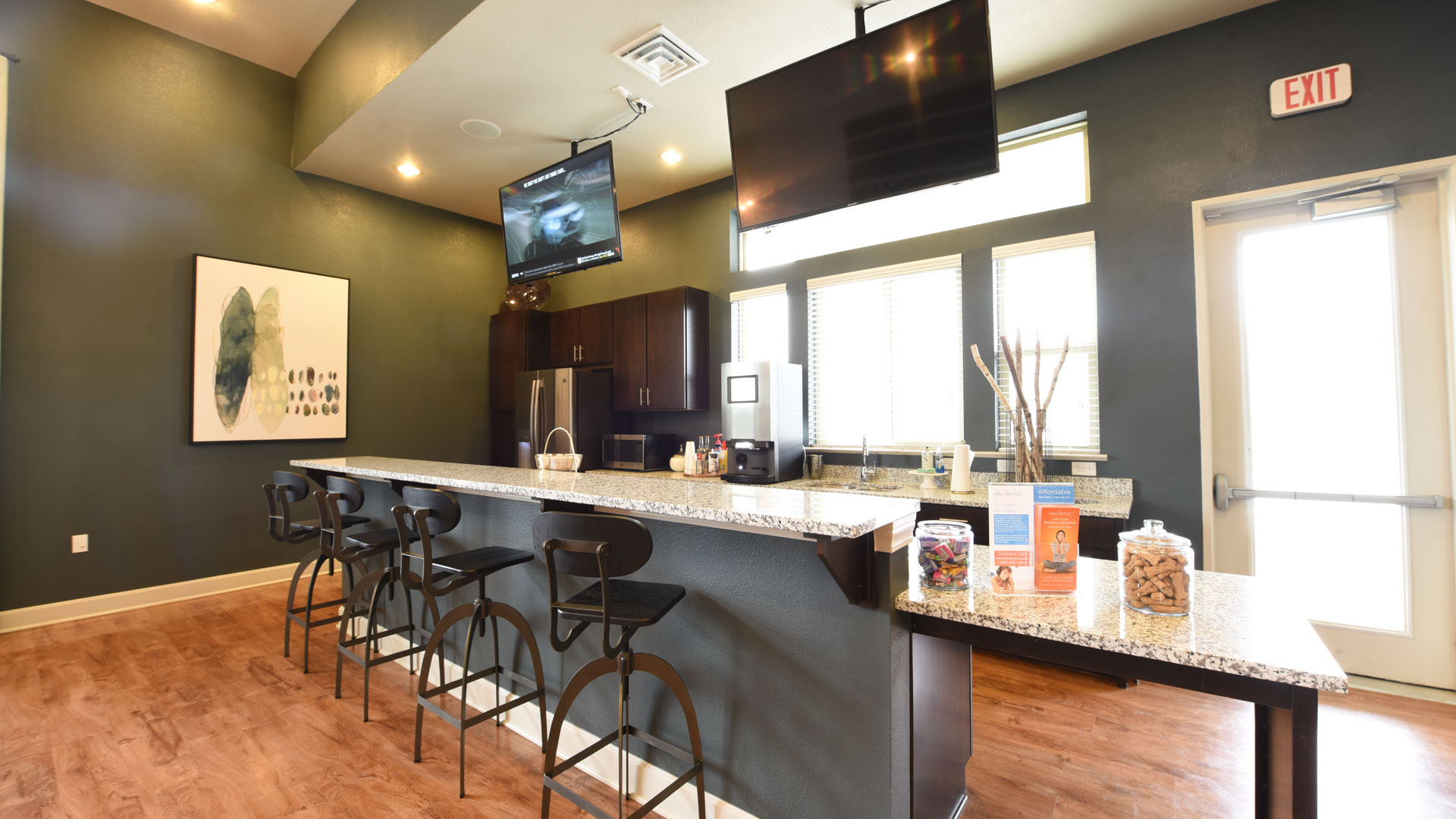 clubhouse Kitchenette at Springs at Foothill Farms in Colorado Springs-28