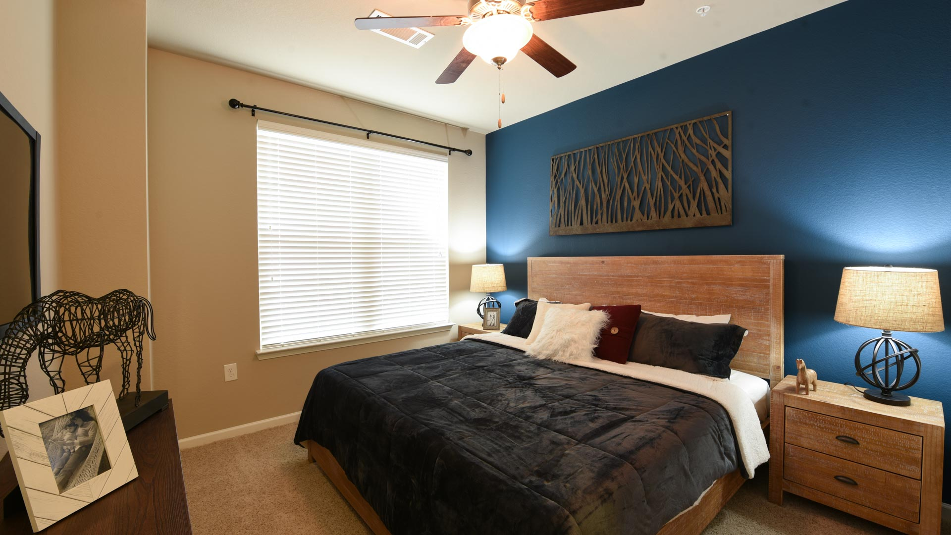 Master Suite with Accent Wall at Springs at Foothill Farms in Colorado Springs-9
