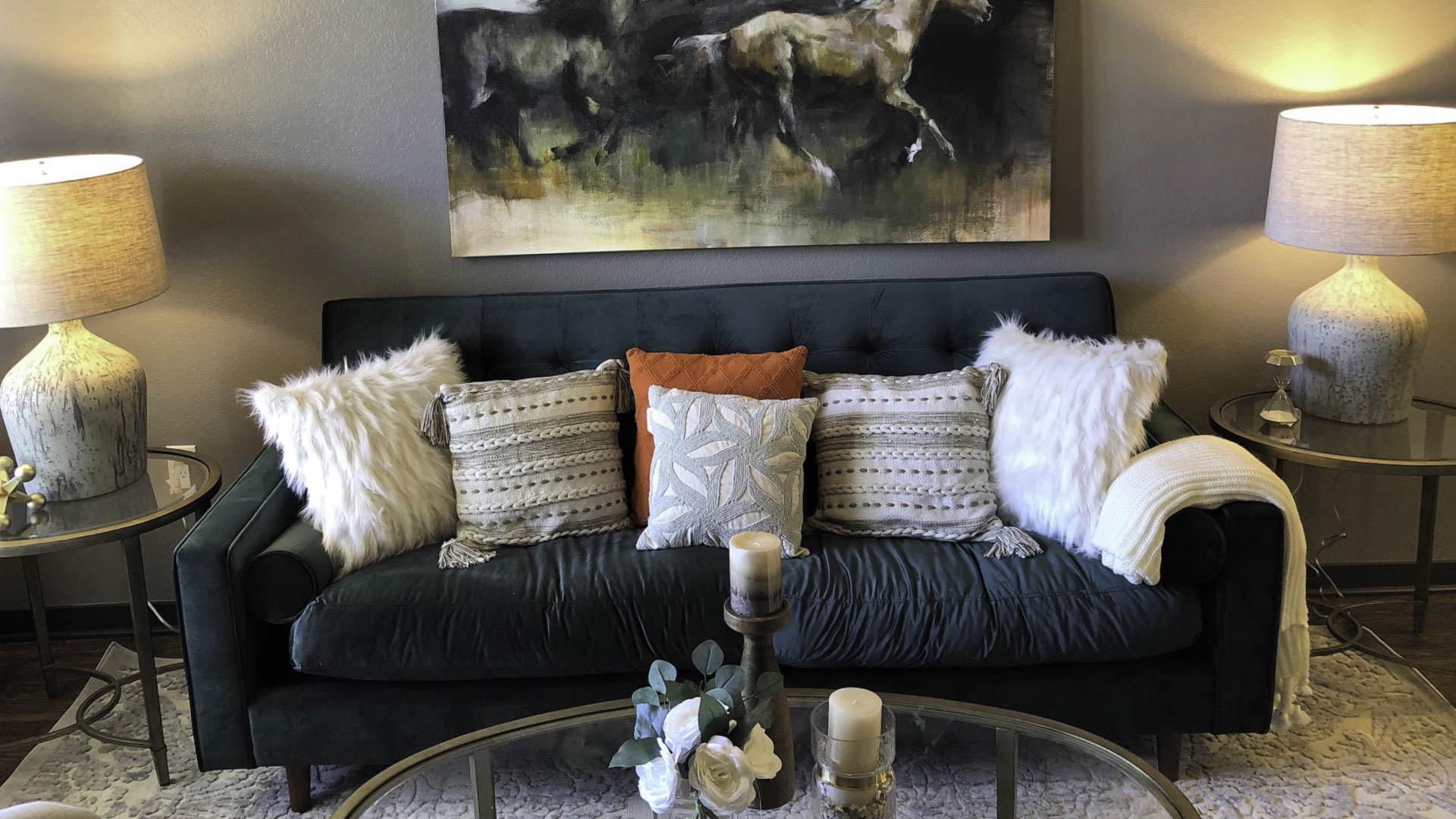 model living room edited