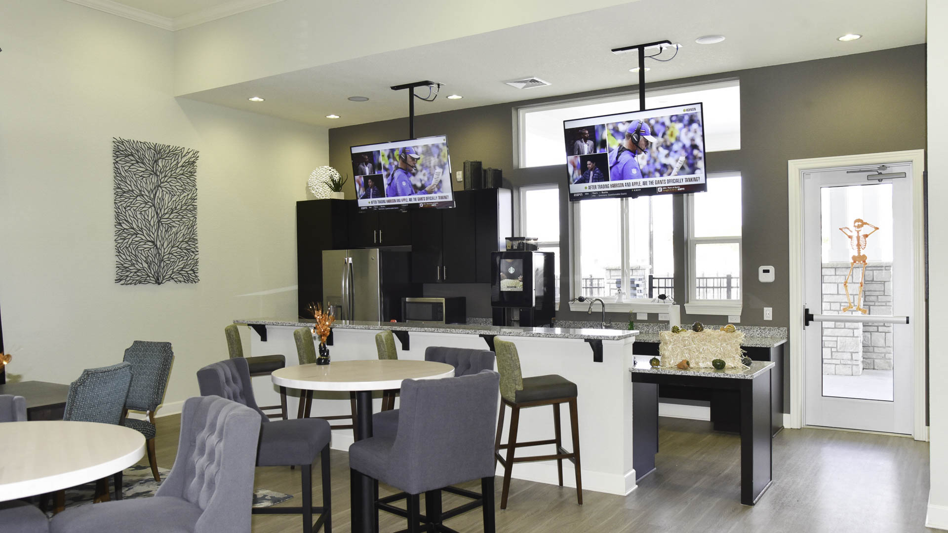 Springs at the Reserve clubhouse kitchen