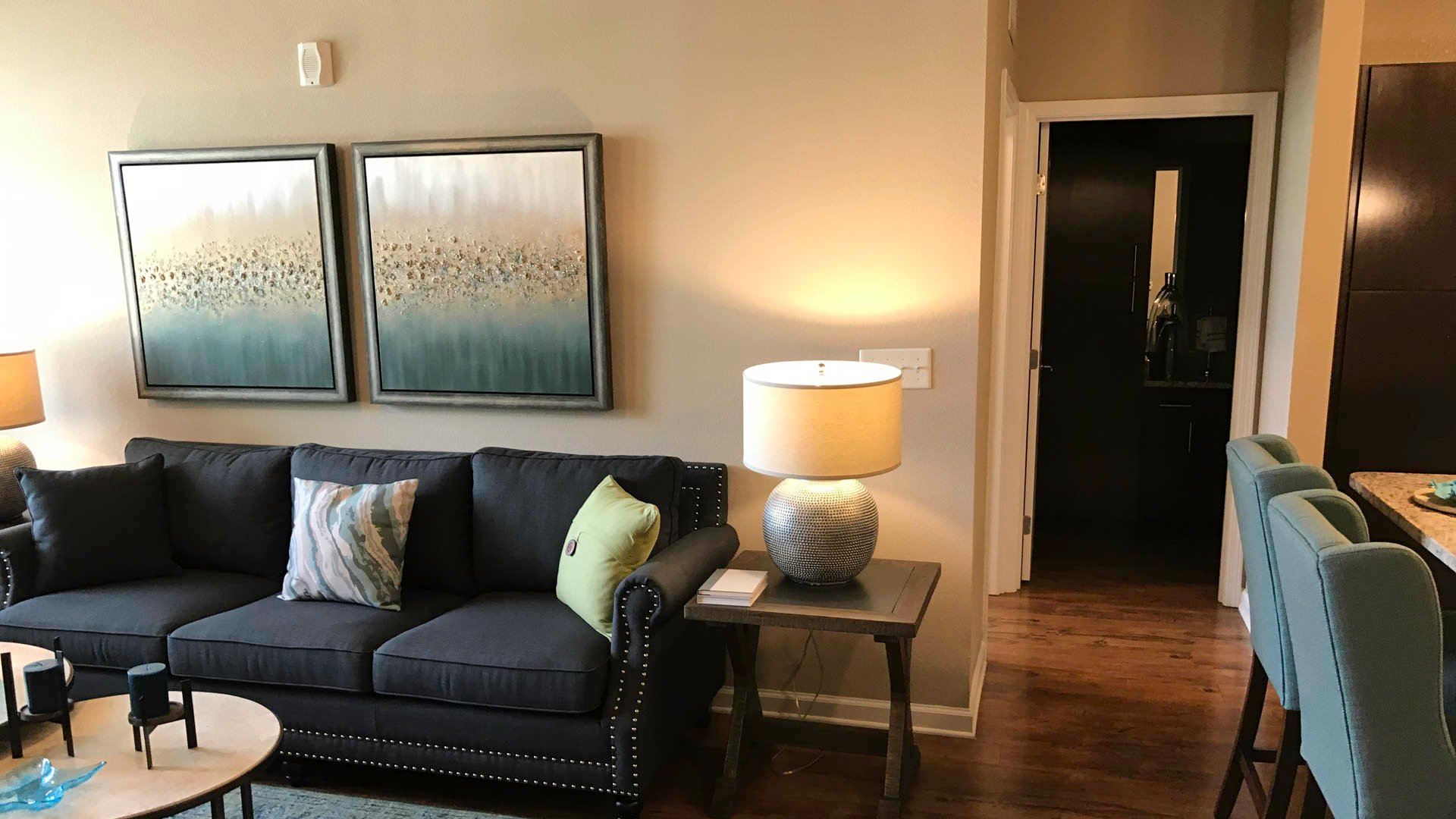 Springs at Laurens Road open concept floorplan