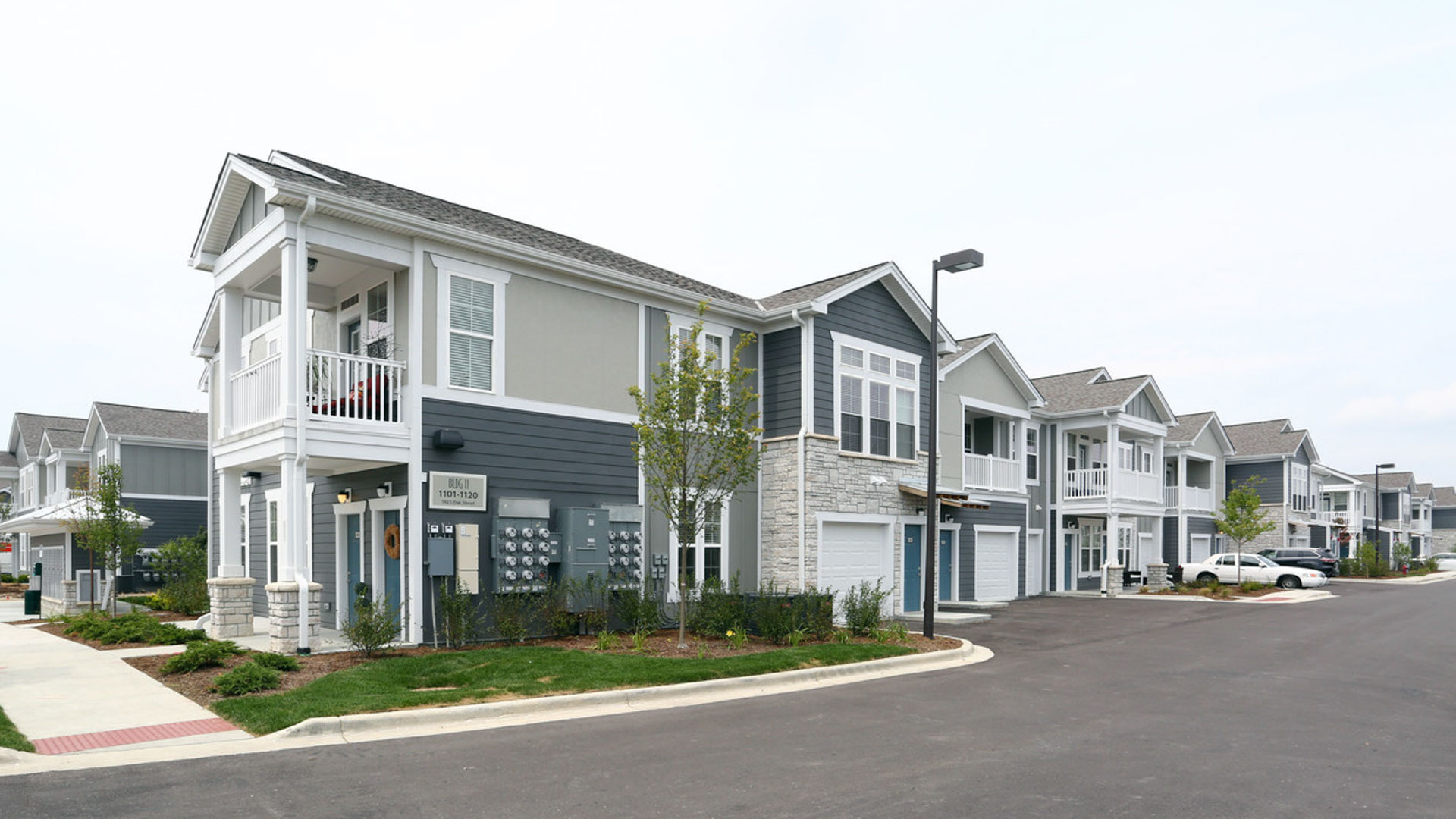 Townhome Exterior in North Aurora at Springs at Orchard Road Apartments-33