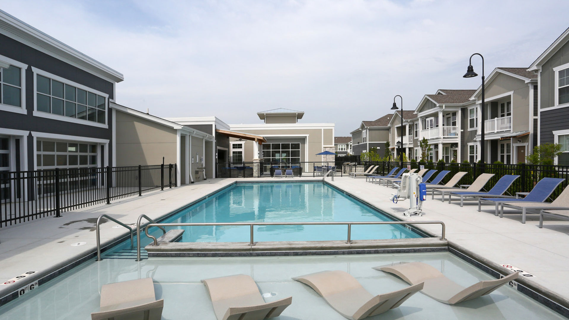 Resort Style Pool in North Aurora at Springs at Orchard Road Apartments-4