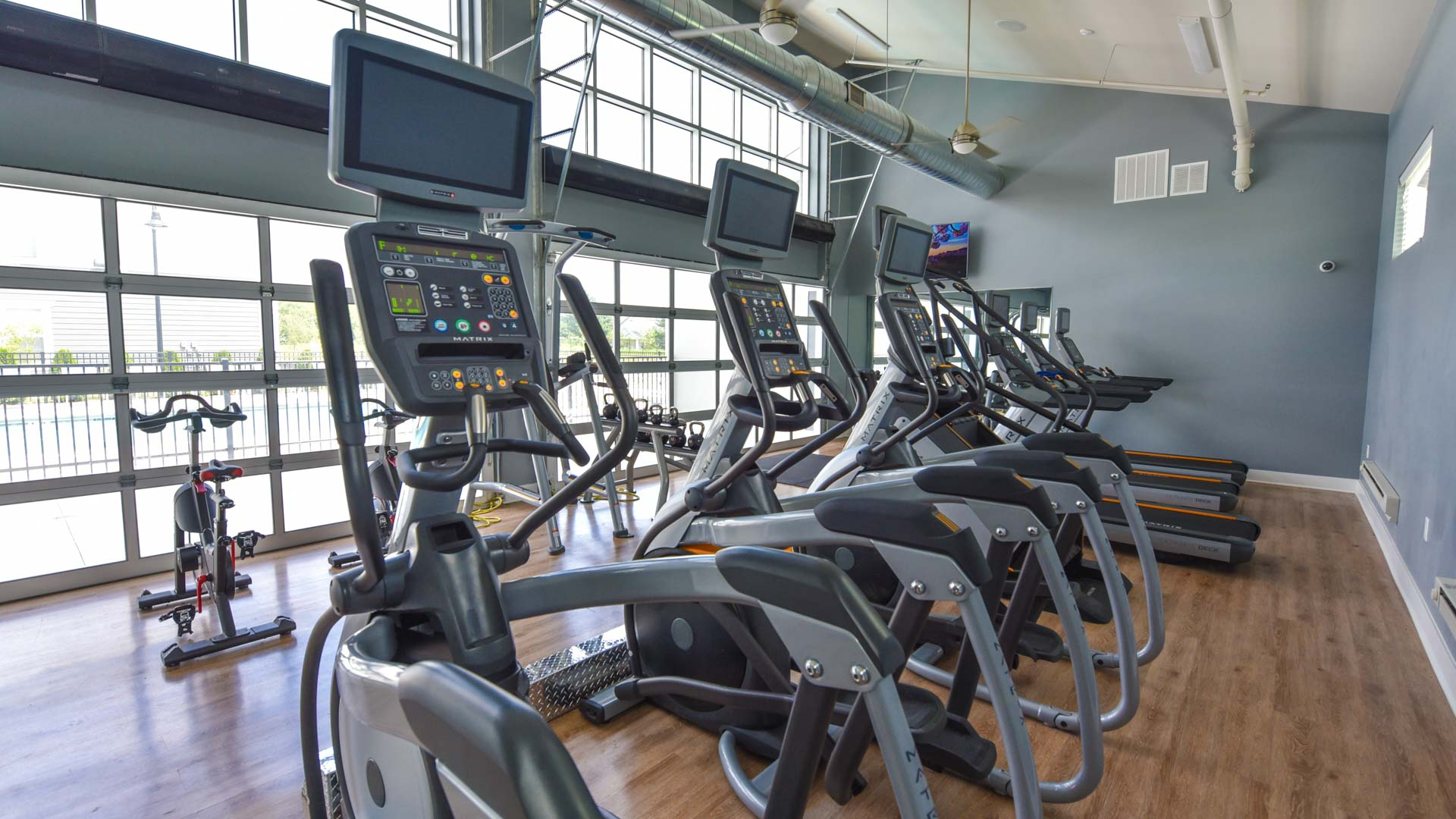 24-Hour Gym at Springs at Orchard Road in North Aurora, IL-11