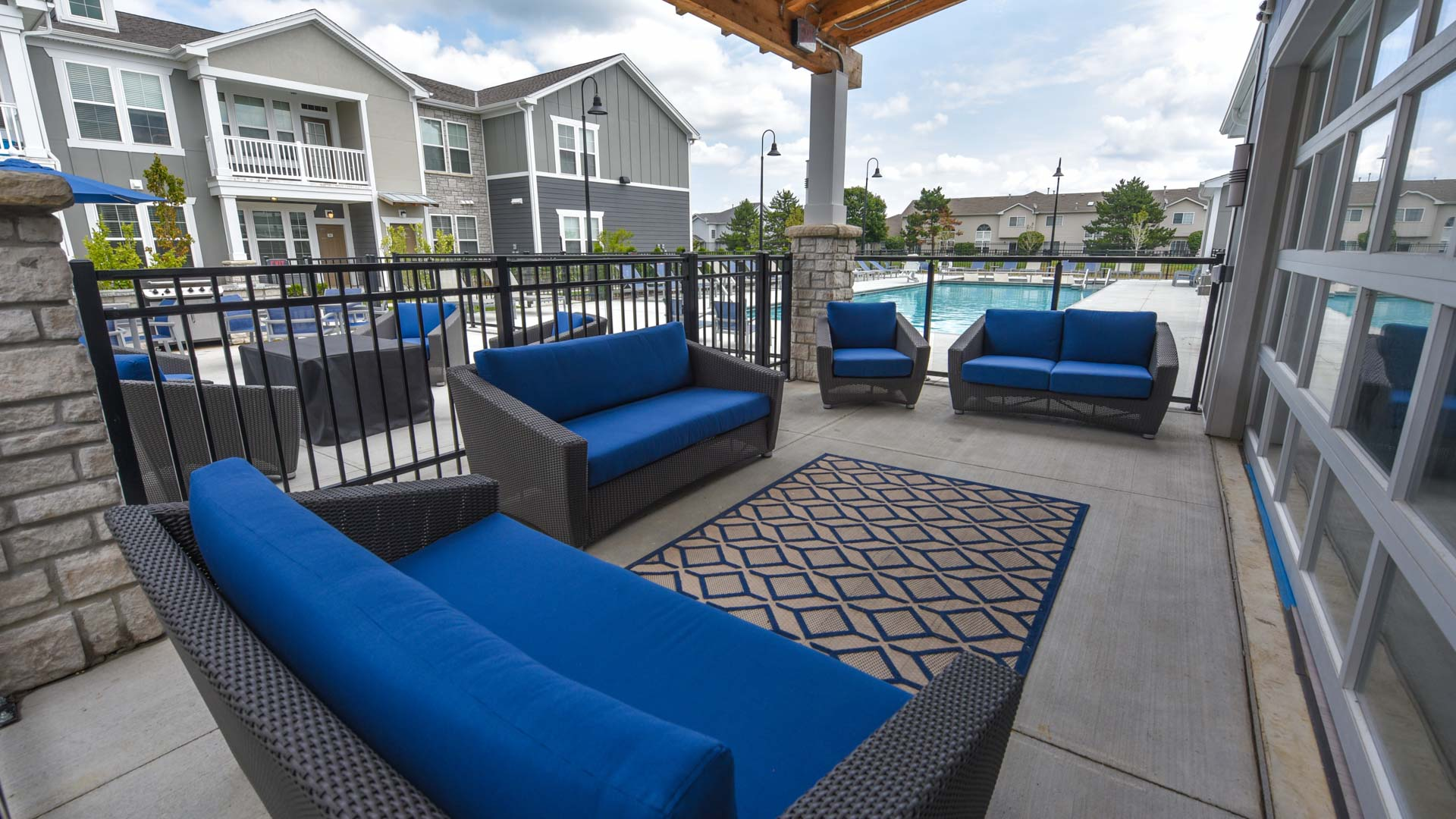 Pool Lounge at Springs at Orchard Road in North Aurora, IL-21