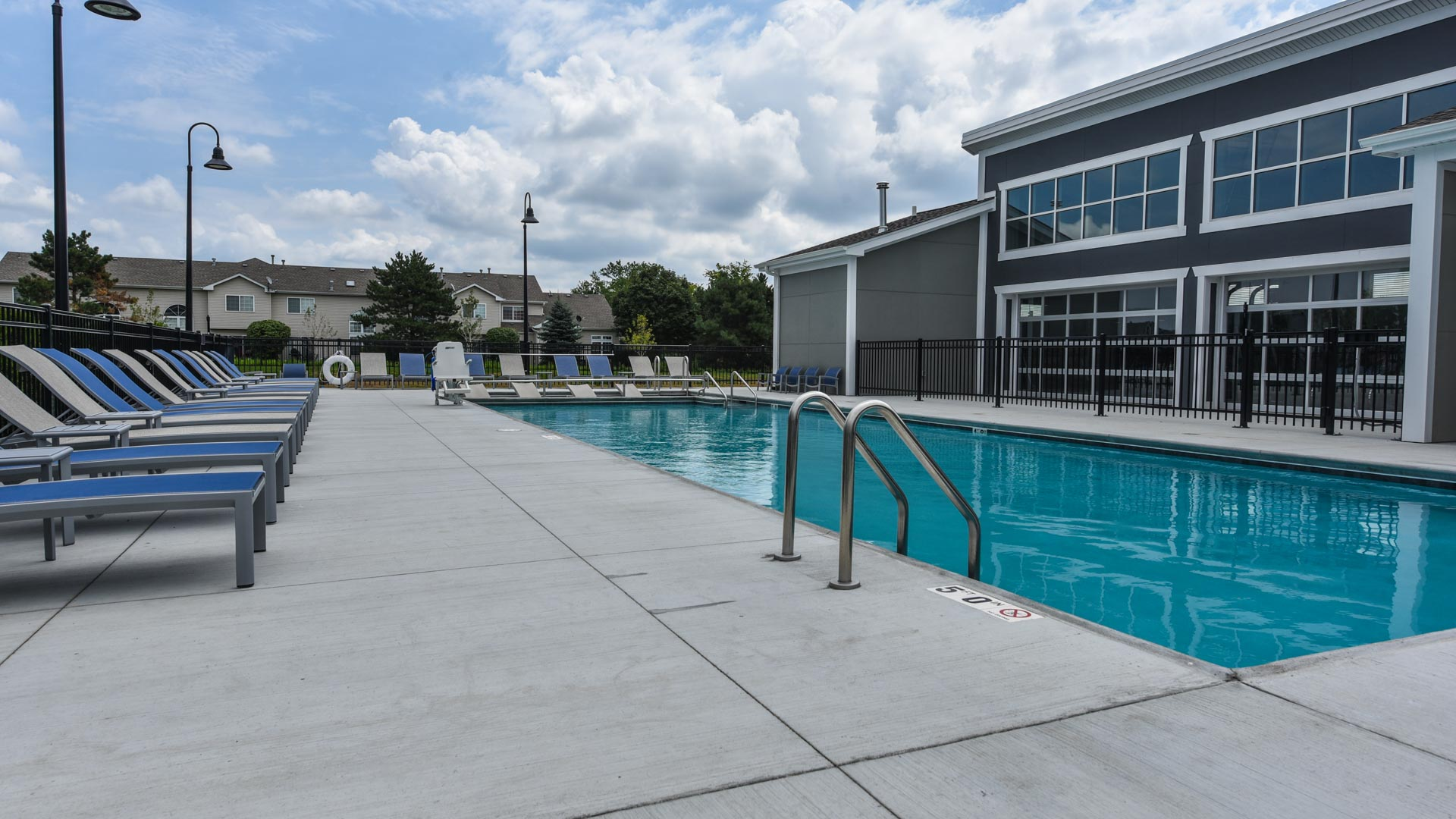 Resort Style Pool at Springs at Orchard Road in North Aurora, IL-23