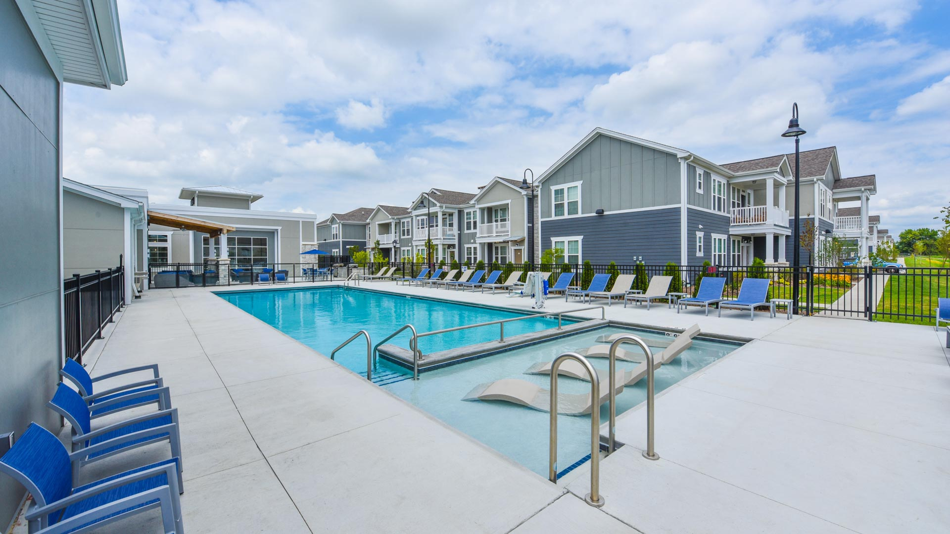 Pool at Springs at Orchard Road in North Aurora, IL