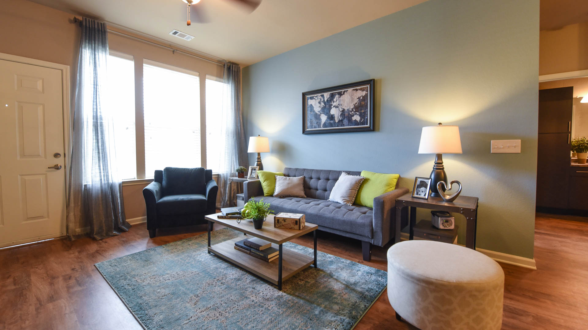 Large Living Room and Private Entry at Springs at Orchard Road in North Aurora, IL-55