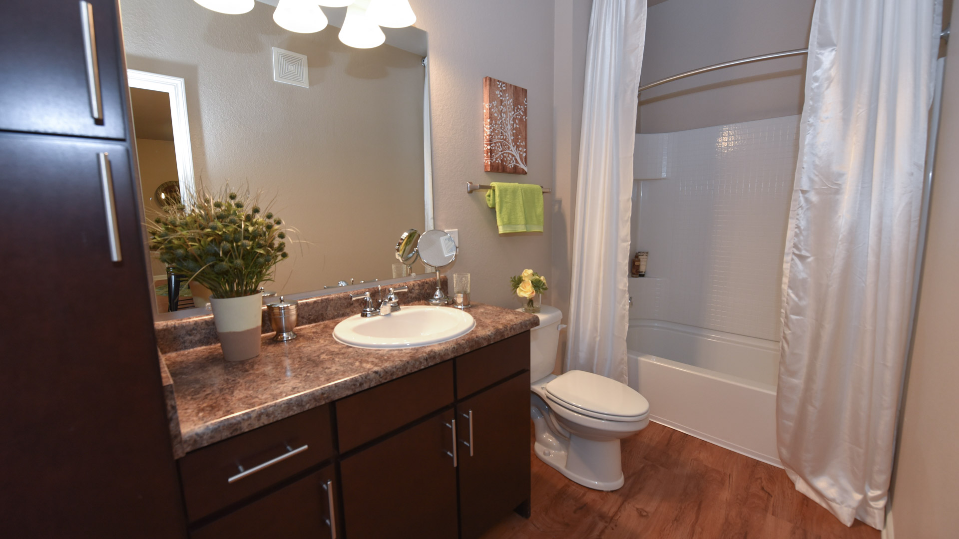 Bathroom at Springs at Orchard Road in North Aurora, IL-58