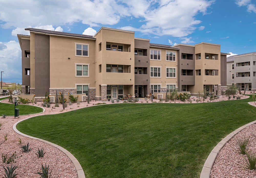 Springs at Red Mountain Townhome Style Exterior Apartments in Mesa, AZ