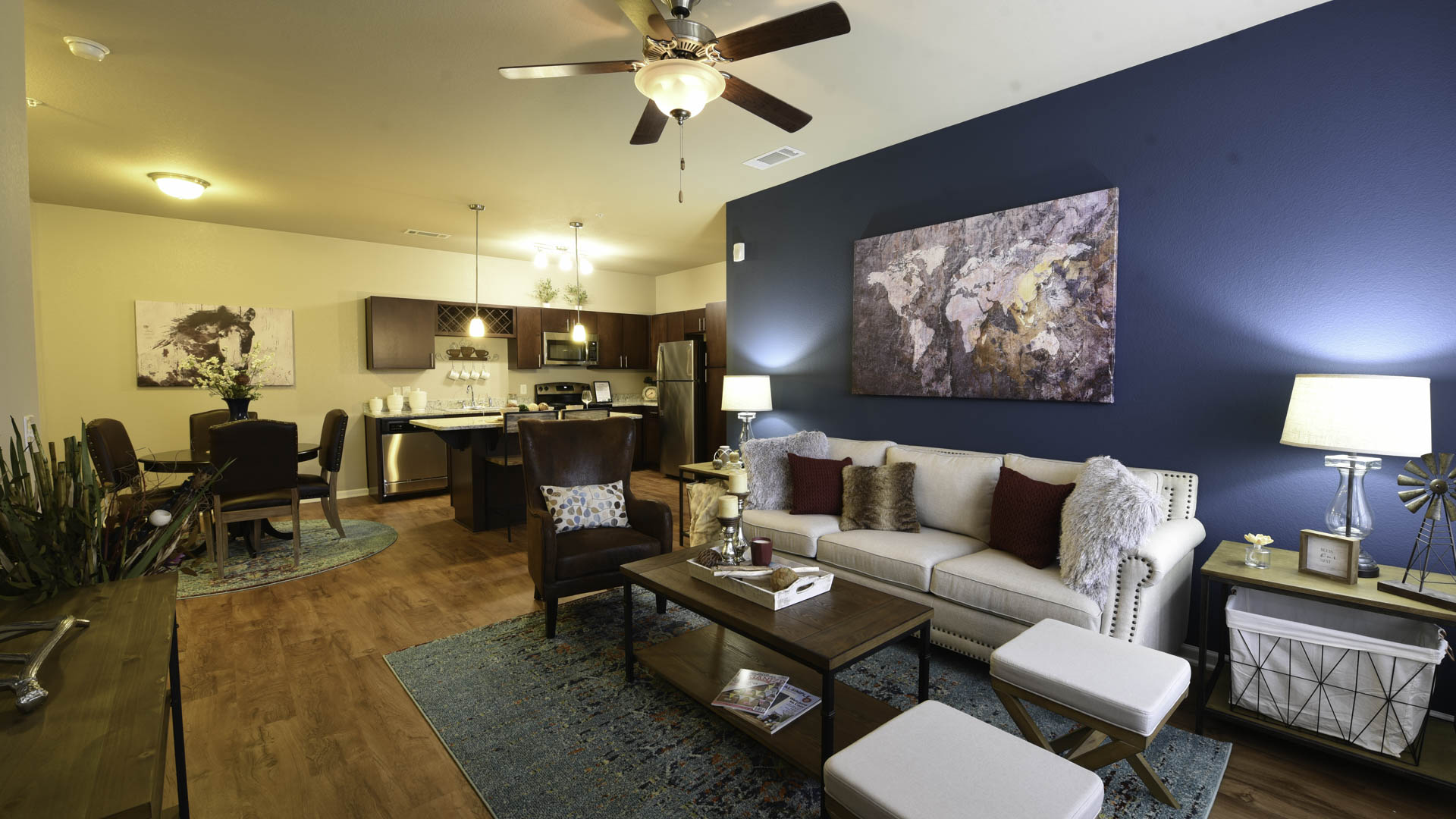 Springs at Sandstone Ranch open concept living space