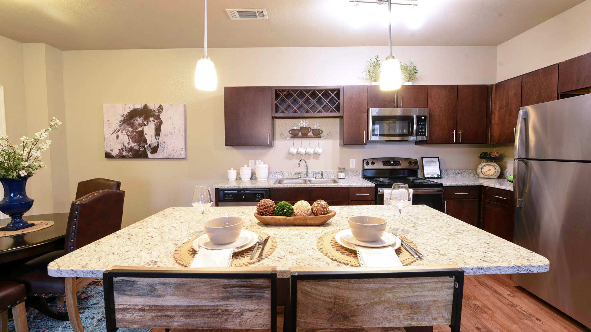 Springs at Sandstone Ranch kitchen