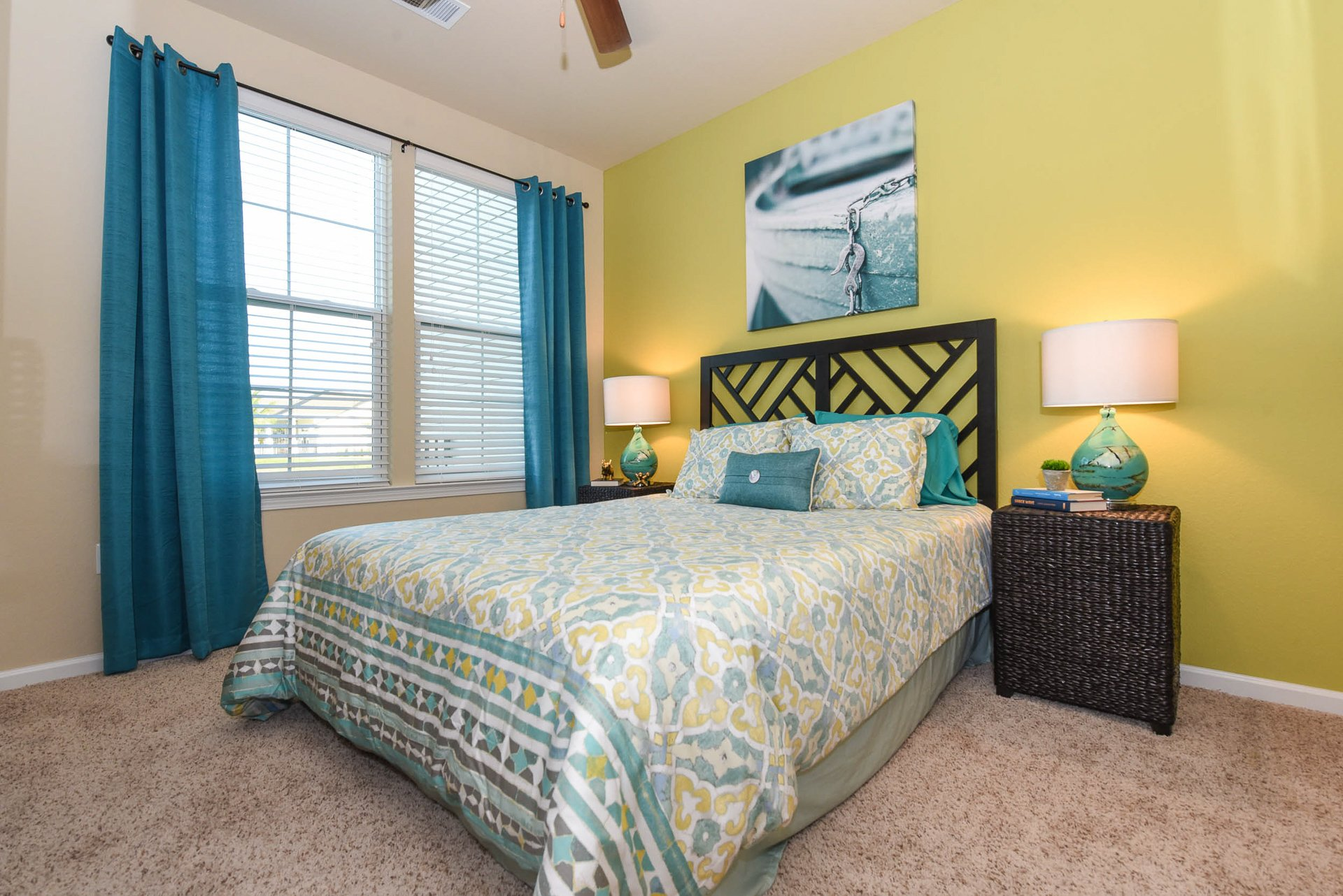 Springs at Six Mile Cypress guest bedroom
