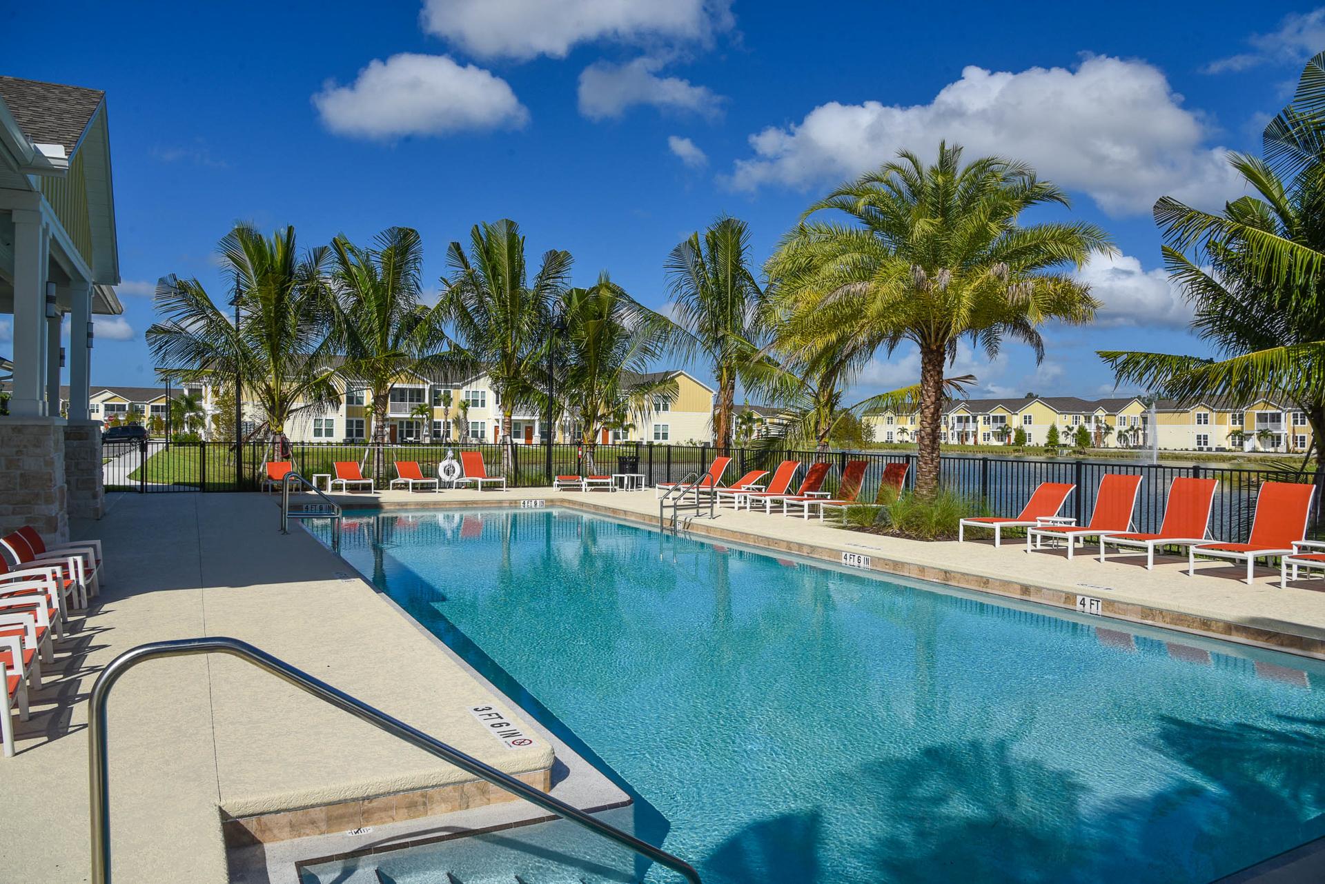 Springs at Six Mile Cypress resort style pool