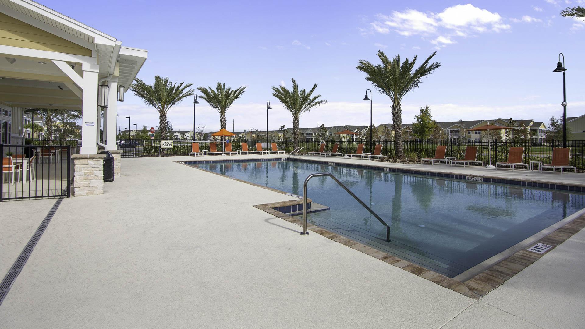 Springs at Port Orange pool