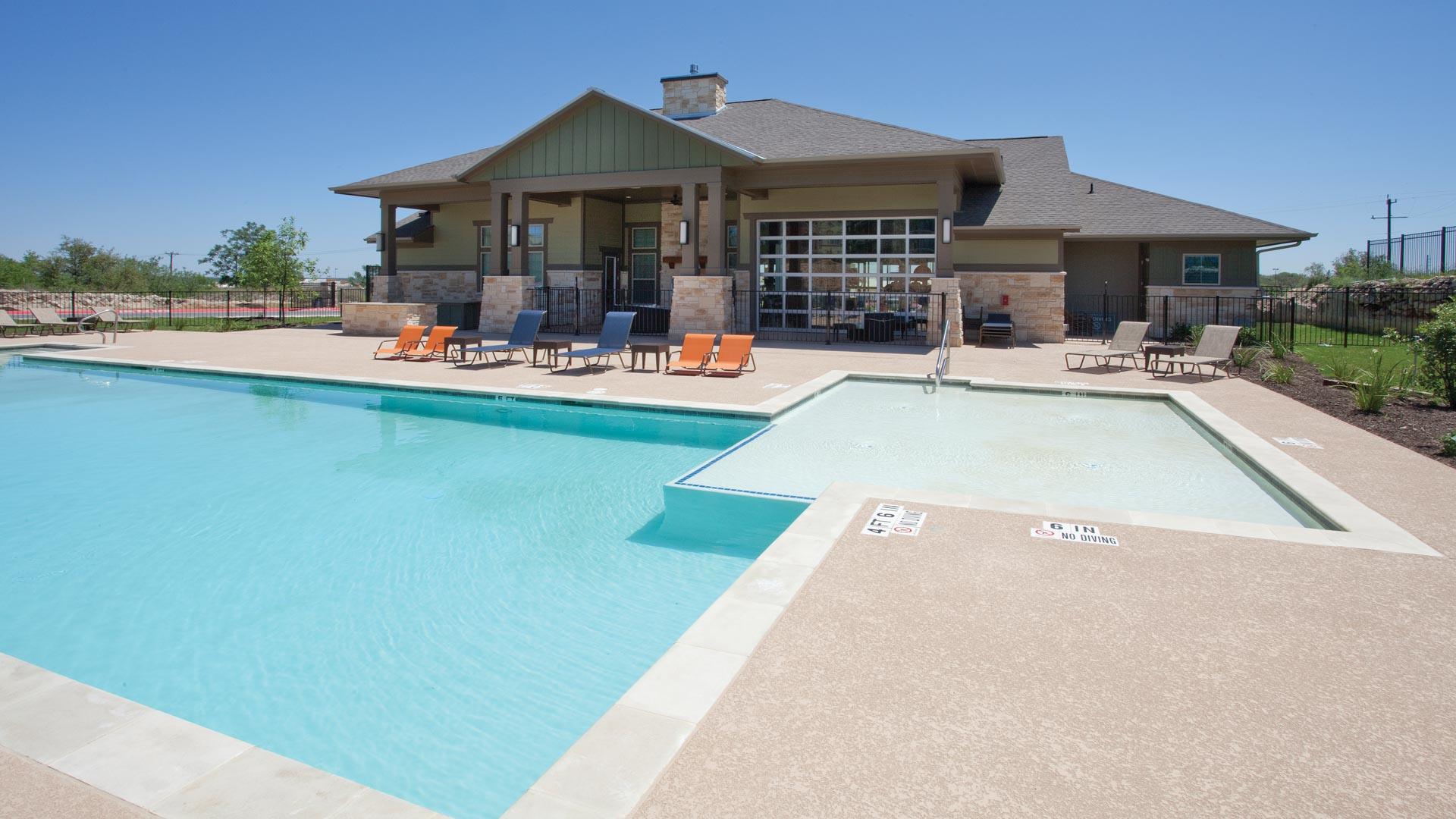Pool in San Antonio at Springs at Alamo Ranch Apartments