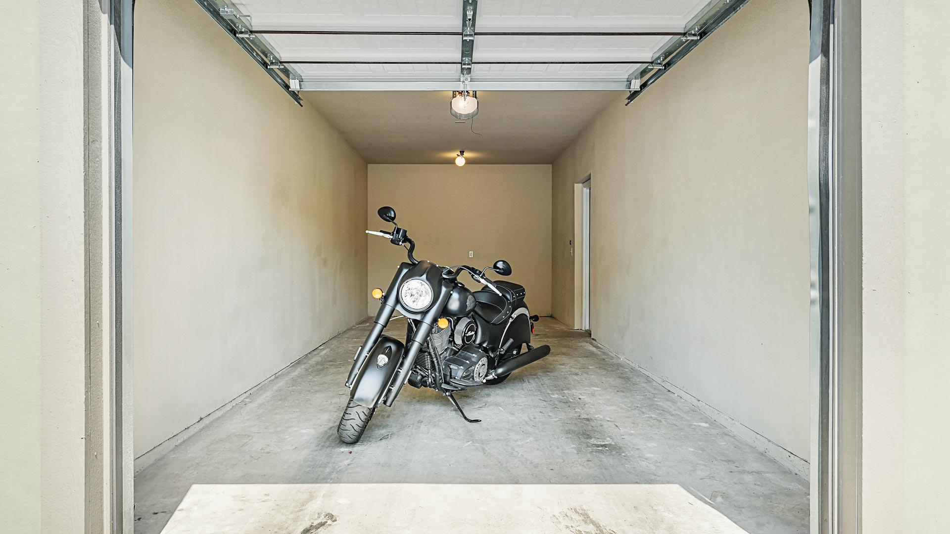Garage with Motorcycle in San Antonio at Springs at Alamo Ranch-20