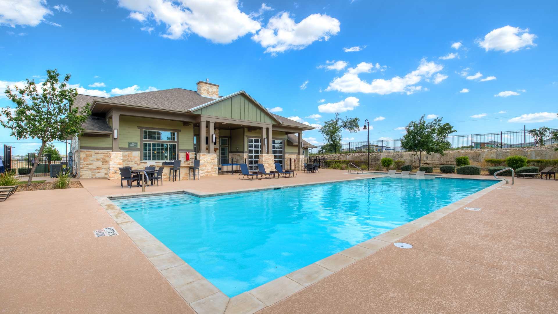Pool in San Antonio at Springs at Alamo Ranch