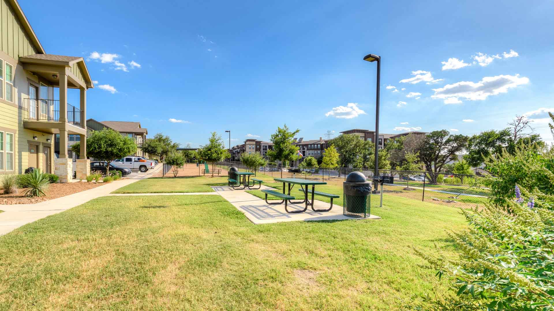 Grill and Picnic Area in San Antonio at Springs at Alamo Ranch
