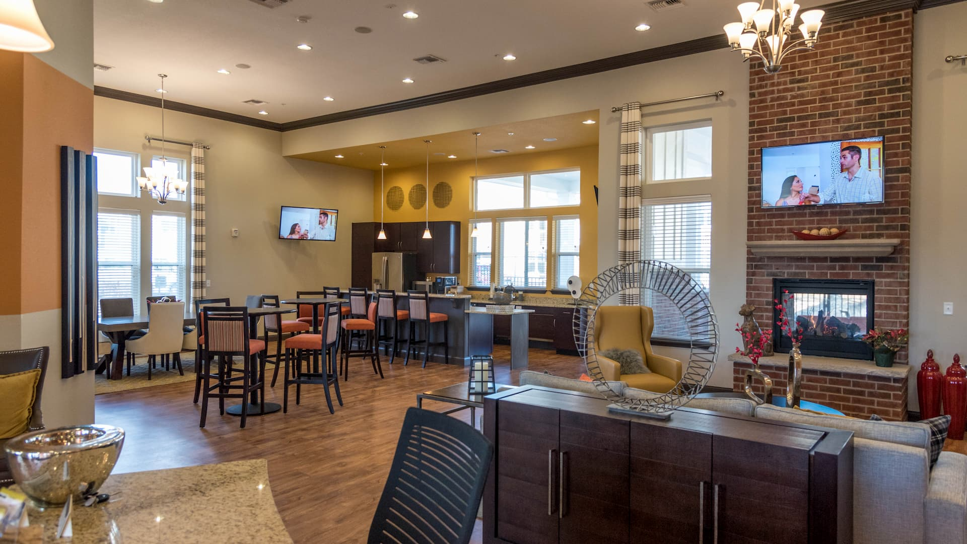 Apple Valley Clubhouse Interior 9