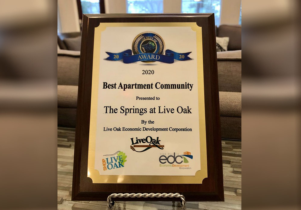 Best of Live Oak Apartments Voted By City of Live Oak