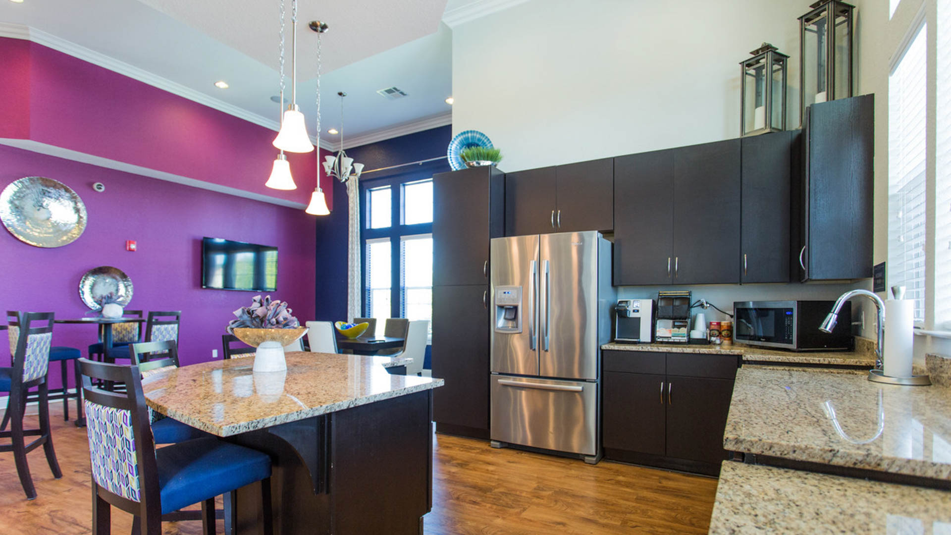 Kitchenette in Savage MN at Springs at Egan Drive Apartments