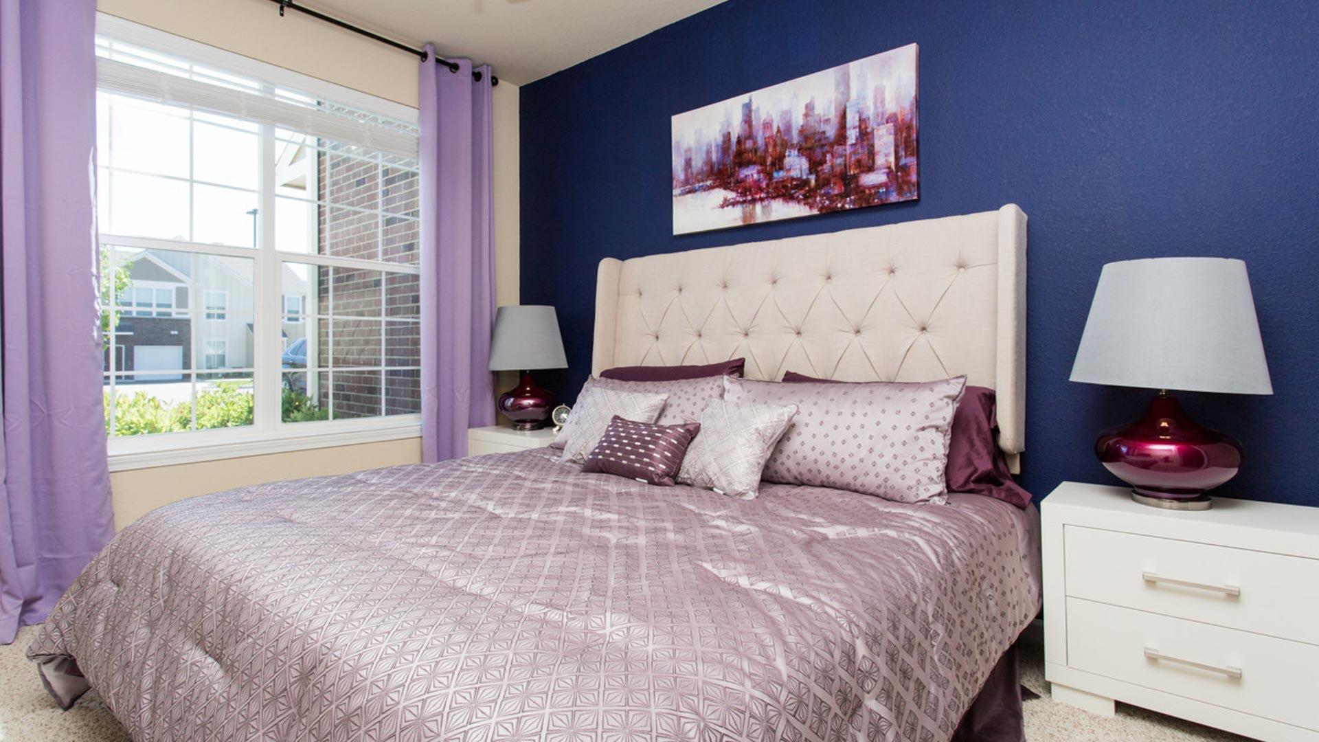 Master Bedroom in Savage MN at Springs at Egan Drive Apartments-21