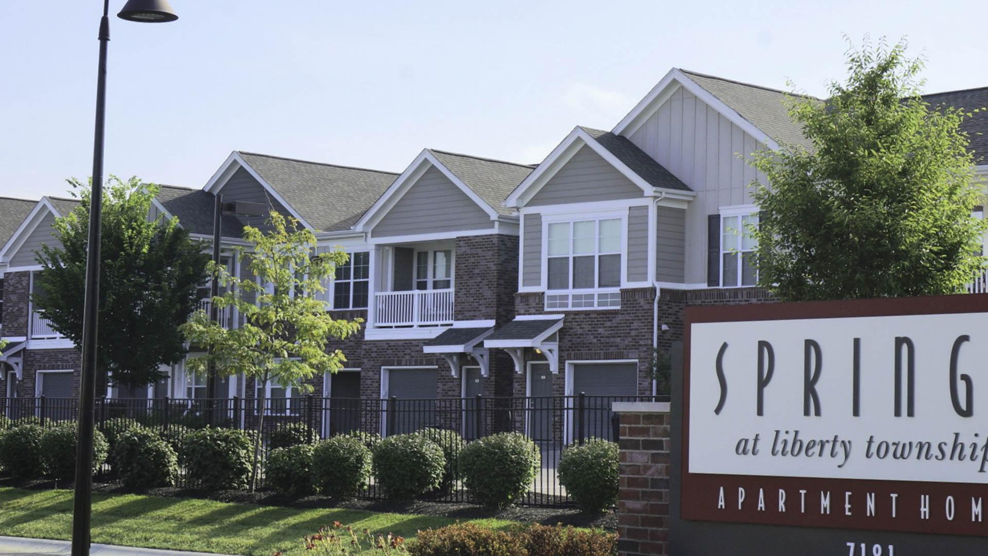 Springs at Liberty Township apartment exterior