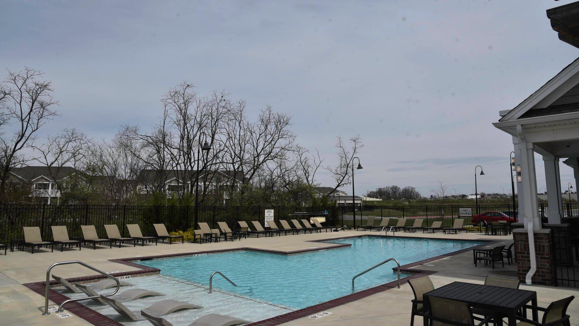 Springs at Liberty Township pool