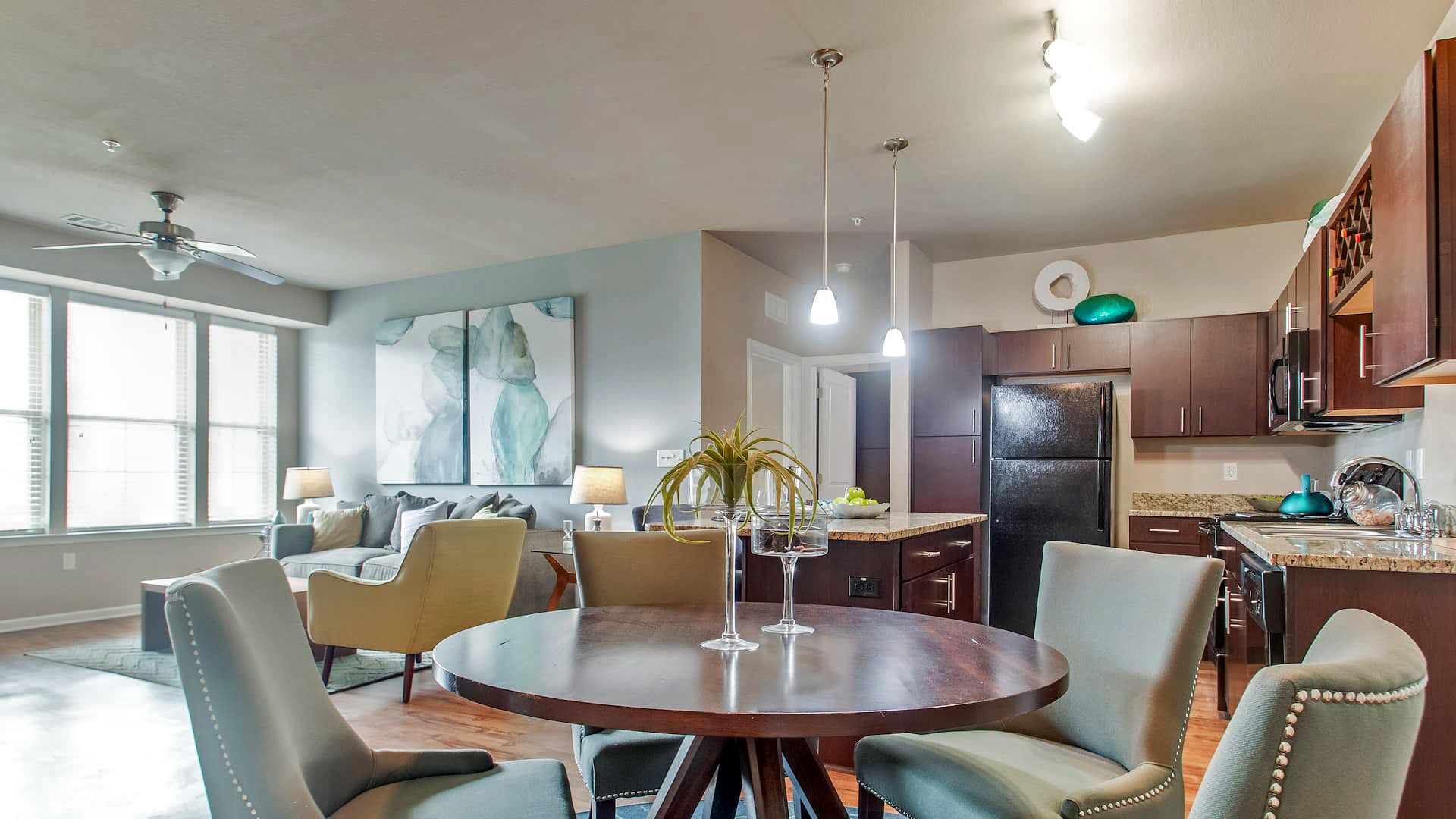 Open Concept Apartment Homes