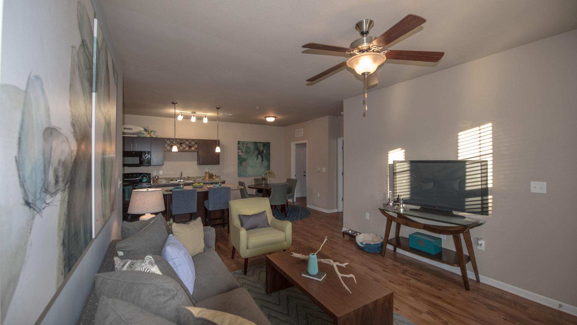 Apartment interior Springs at Kenosha apartments in Kenosha WI