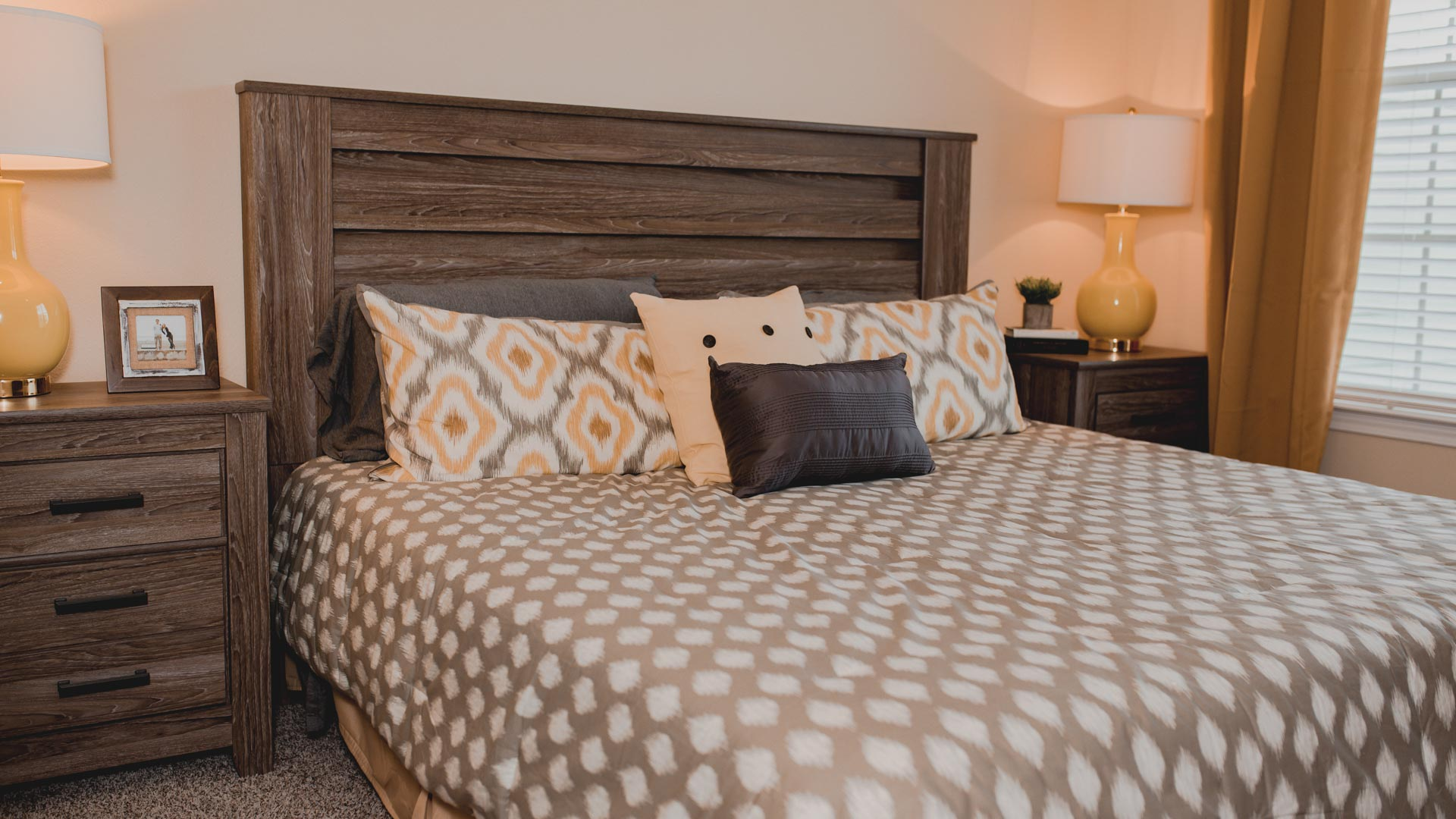 Master Bedroom at Springs at Creekside in New Braunfels, TX-41