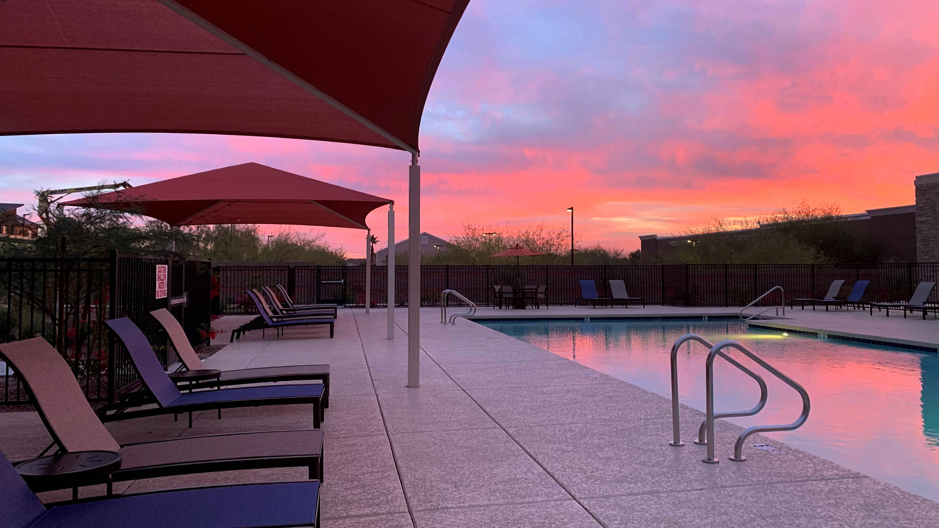 Spring at Red Mountain Resort Style Pool