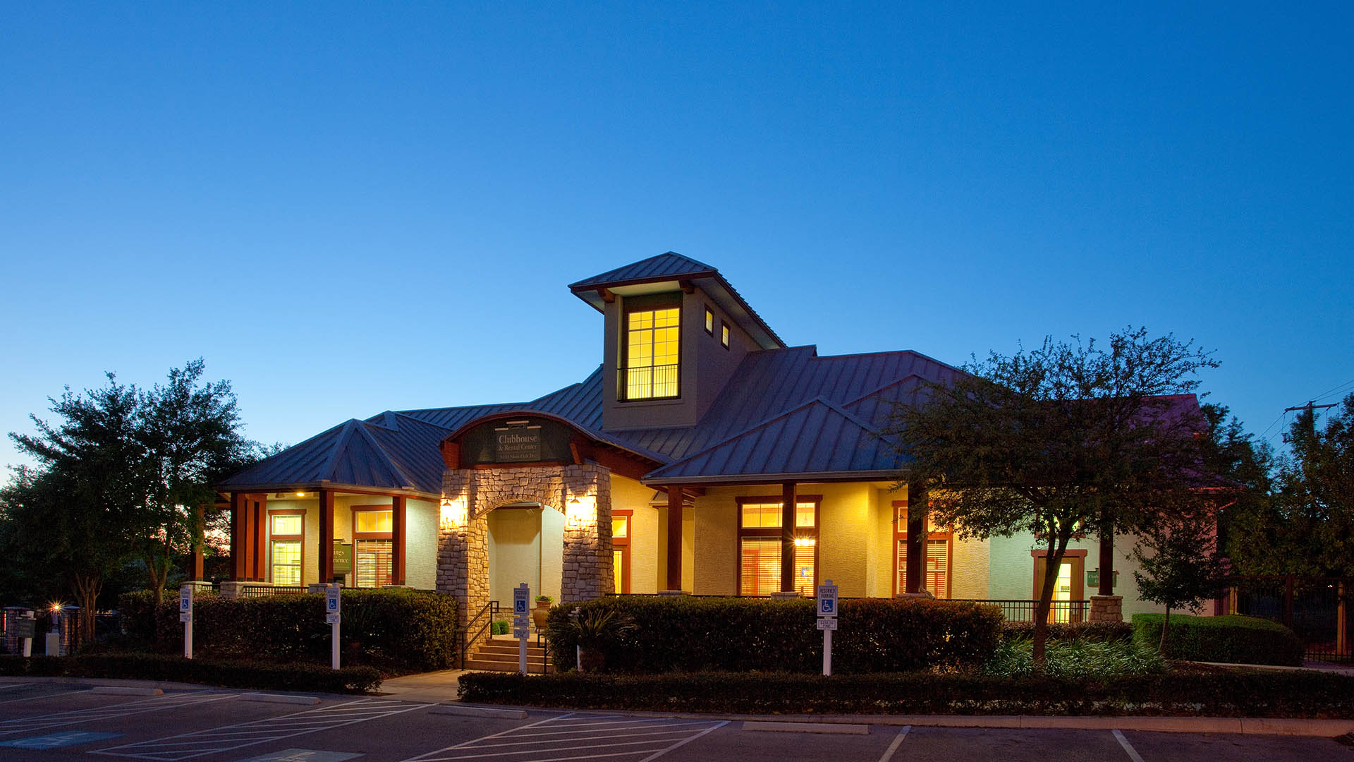 Community Clubhouse at Springs at Live Oak in Live Oak, TX