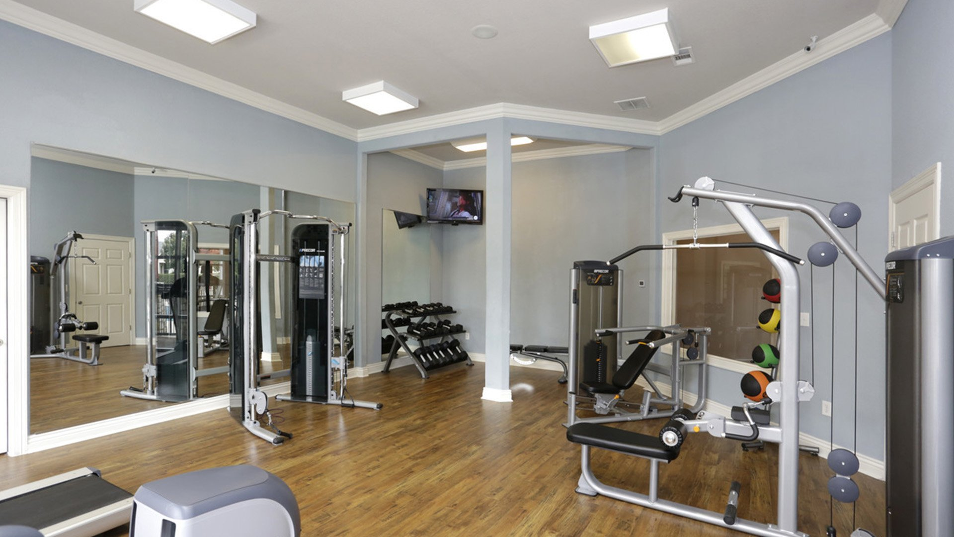 Fitness Center at Springs at Live Oak in Live Oak, TX